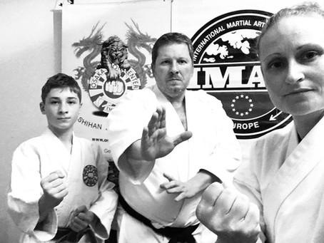 Online-Karate-Session