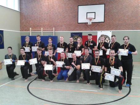 IMAF Leichtkontakt Kickboxing Competition in Emden am 28.02.2016