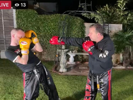 IMAF Online Kickboxing Session