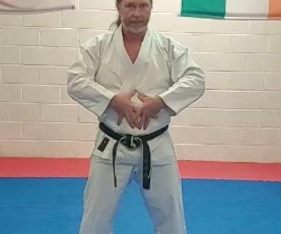 Karate Session mit Sensei Malcolm Murphy