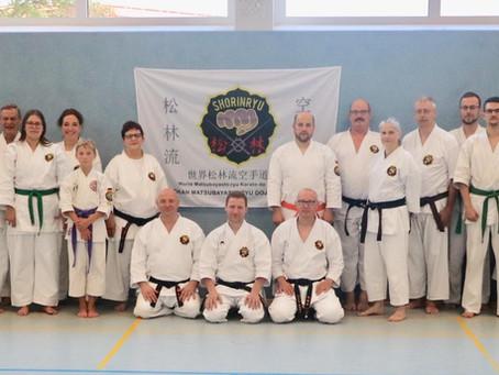 Martin O'Malley unterrichte Karate und Kobudo in Großefehn