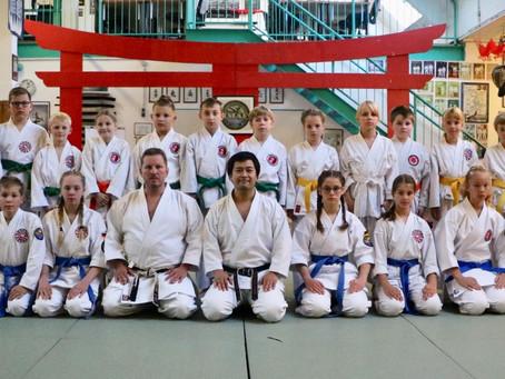 Shotokan Kids-Session mit Keigo Shimizu Sensei in Emden