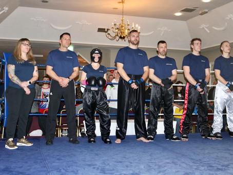 OSC-Sportler bei Kickbox-Ringshow in Irland