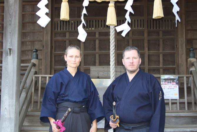 Jens und Vicky Fricke auf Trainingsreise in Japan