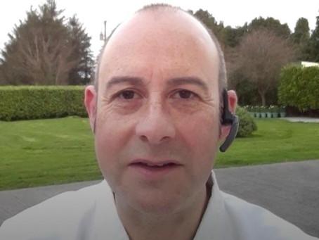 Sensei Simon Talbot aus Irland  unterrichtete einen Online Workshop