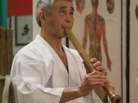 Shuzo Imai 9.Dan im Honbu Dojo Emden