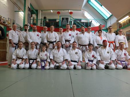 Besuch aus Irland im Osaka Sport Center Emden