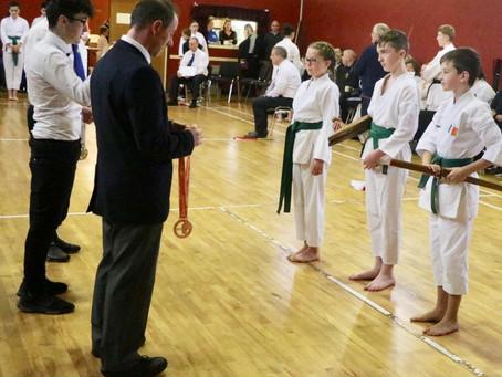 Karate & Kobudo Kata Contest in Manulla