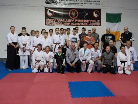 Nihon Jujutsu Workshop in Irland