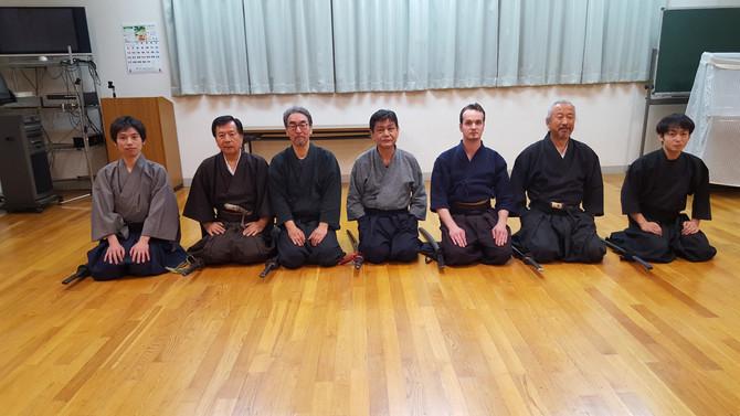 Thorsten Garrels vom OSC Emden zu Besuch bei der ZNBDR in Japan