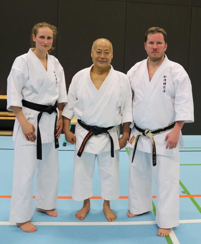 Shotokan Lehrgang mit Toshiaki Namiki 9.Dan and Furusho 6.Dan