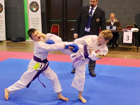 Medaillenregen für das Team vom Osaka Sport Center Emden in Irland