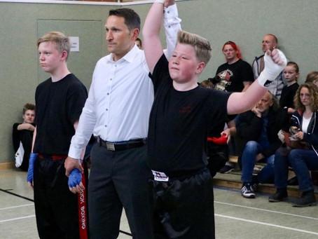 Spannende Kickboxkämpfe in Emden