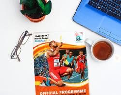 IAAF 2015 Book Design