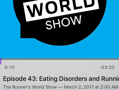 Podcast Review: The Social Work Role in Eating Disorders in Running (By Traci Nigg)