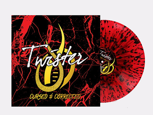 Cursed & Corrected Vinyl Red & Black - Limited Edition