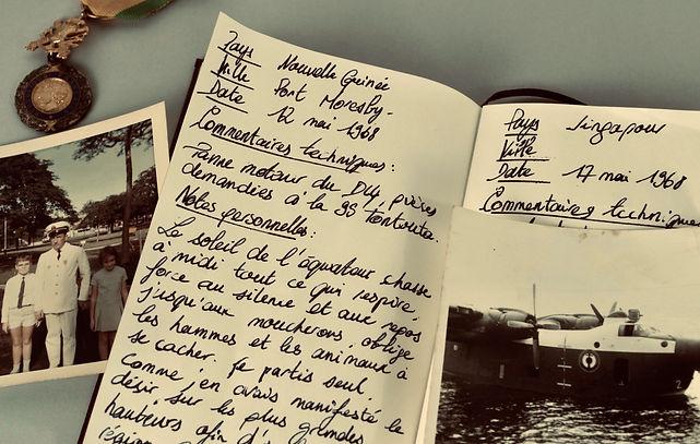 histoire carnet famille voyage