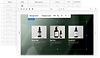 overlapping images on a black background. One image shows lists and categories on a doc. the other image shows 3 black bottles on a grey background with text underneath