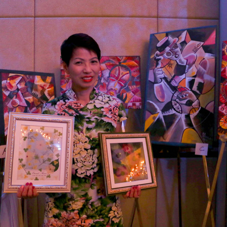 Charity auction for IDEAL ---      Rotary Club of Hong Kong City North