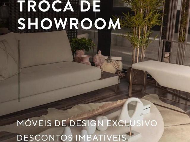 TROCA DE SHOWROOM