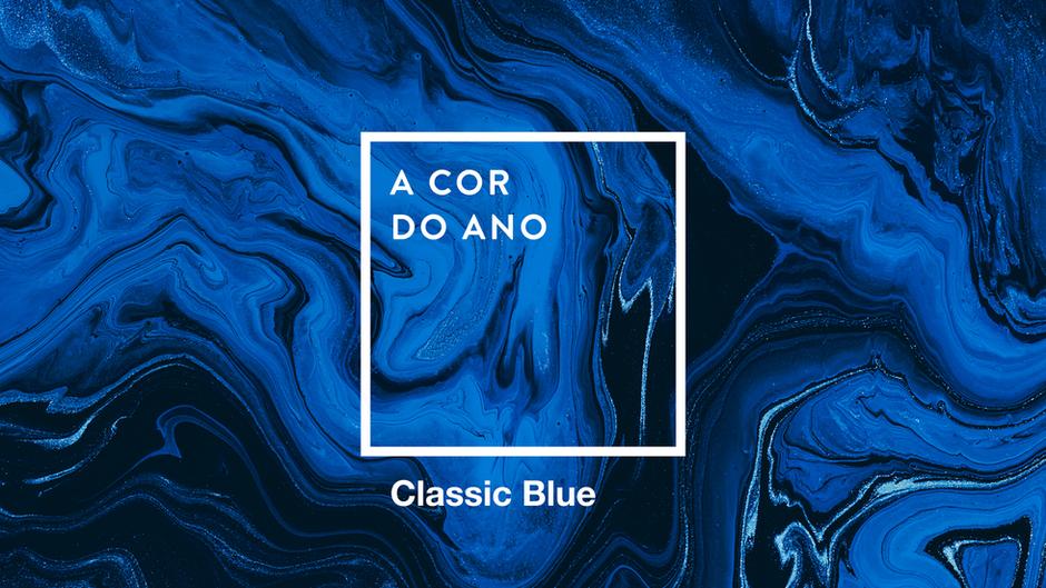 TUDO AZUL! Classic Blue é a cor do ano!