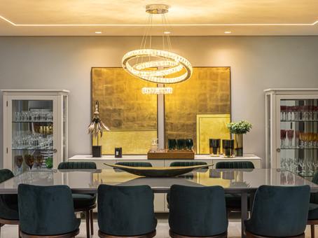 Sala de jantar - Projeto de Felipe Nunes