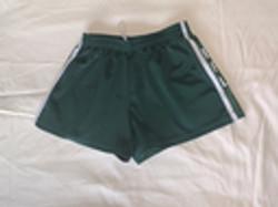 Footy shorts green