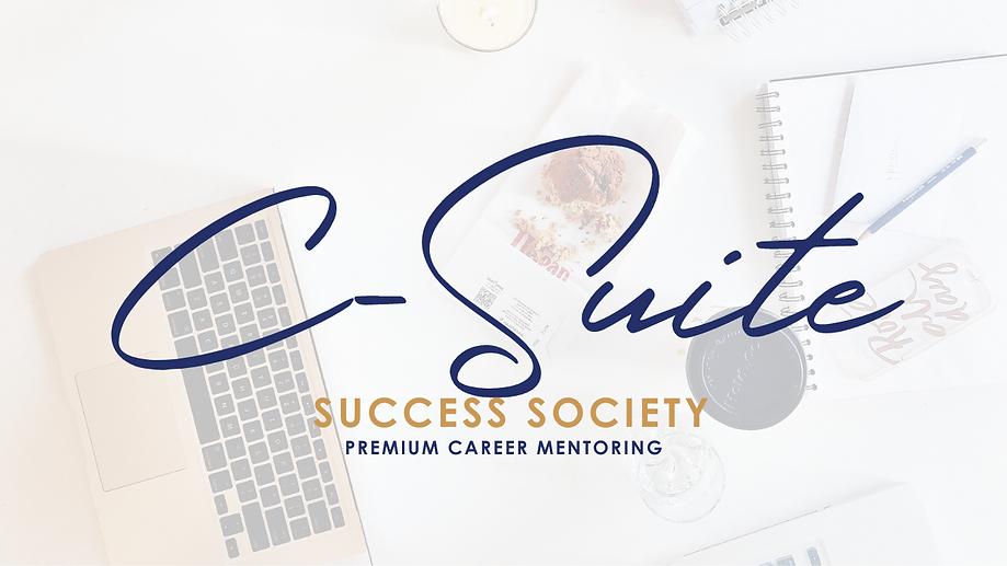 C-SUITE Success Society Premium Career Mentoring | Jackie Mitchell Career Consulting