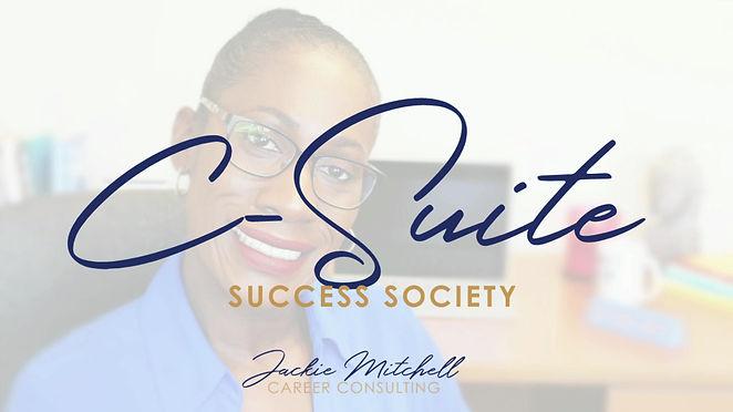 JMCC | C- Suite Success Society Mentoring Program