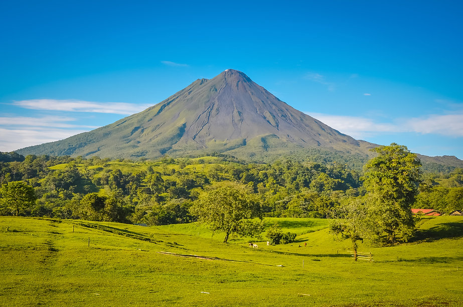 _Volcán Arenal with Blue Skies.jpg