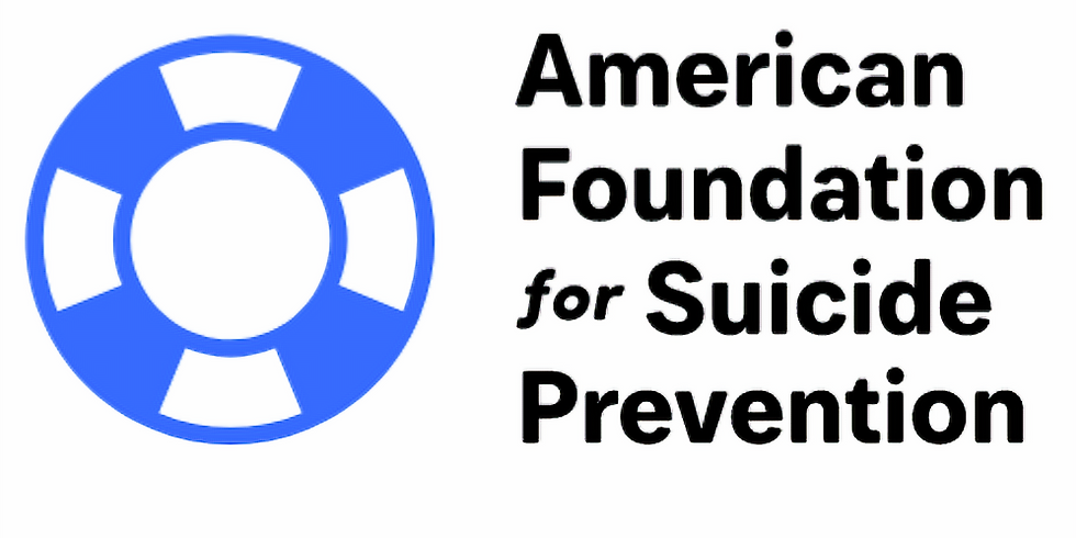 An Evening of Mediumship to benefit American Foundation for Suicide Prevention