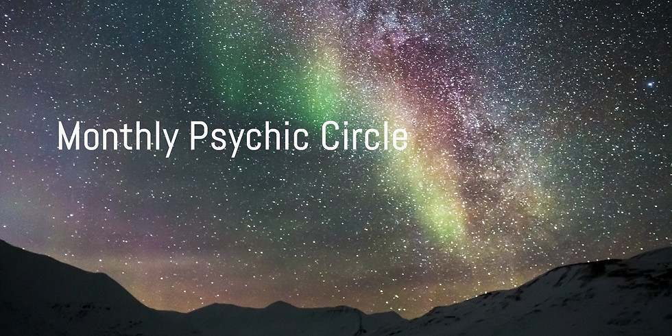 Monthly Psychic Circle @Hope Ethereal - March