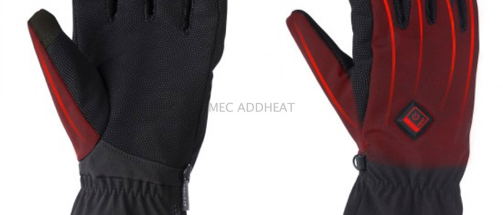 Battery Heated Softshell Gloves