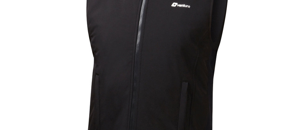 Motorcycle Heated Softshell Vest 42Watt (3.5 Amp)