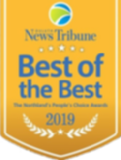 A.G. O'Brien Duluth News Tribune Best of the Best 2019 Plumbing Contractor