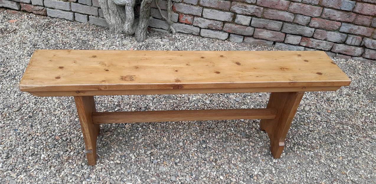 Pine School Bench SOLD