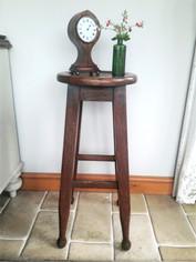 Arts & Crafts Tall Oak Stool £125