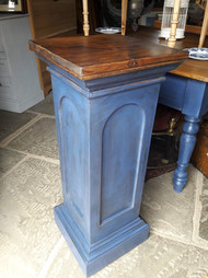 Ink blue Painted Column £85