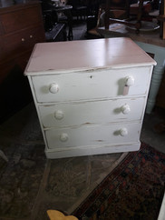 Painted Victorian Chestof Drawers