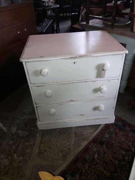 Painted Victorian Chestof Drawers £195