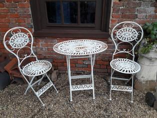Wrought Iron Garden Set £75