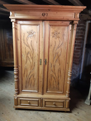 European Pine Double Wardrobe £425