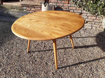 SOLD Ercol 'Blonde' Dining Table