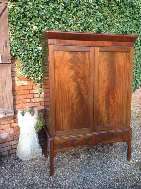 Flame Mahogony Cupboard £235