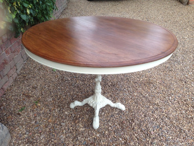 Mahogany Topped Serving Table £135