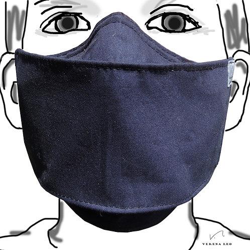 Dreierpackung - farbige 4-lagige Gesichtsmasken