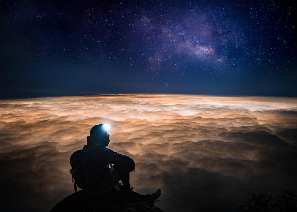 Vía Láctea - Cerro Manquehue