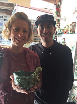 Lilia Venier Ceramics Customer, Bowl with Octopus
