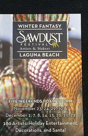 Sawdust Winter Fantasy, Lilia Venier, Ceramic Artist, Booth 308 Booth 308