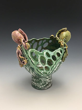 """Strong Currents"" - Vase - SOLD, Directly by Me"